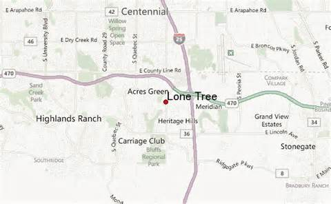 lone tree location guide