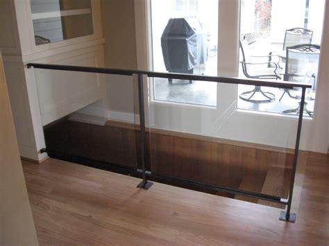 Glass Backsplash by Glass Railing Hardware Ideas Railing Stairs And Kitchen