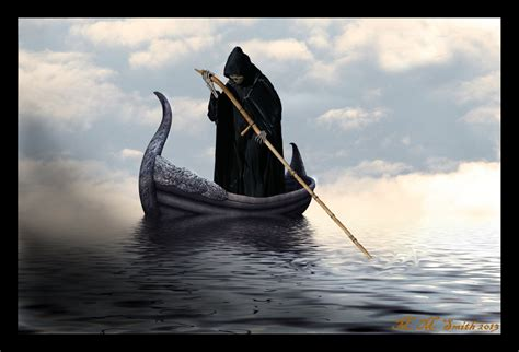 charon the ferryman by mmsmith1777 on deviantart - Ferry Boat River Styx