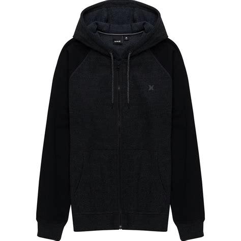 Jaket Zipper Hoodie Sweater Hurley hurley bayside zip fleece hoodie s backcountry