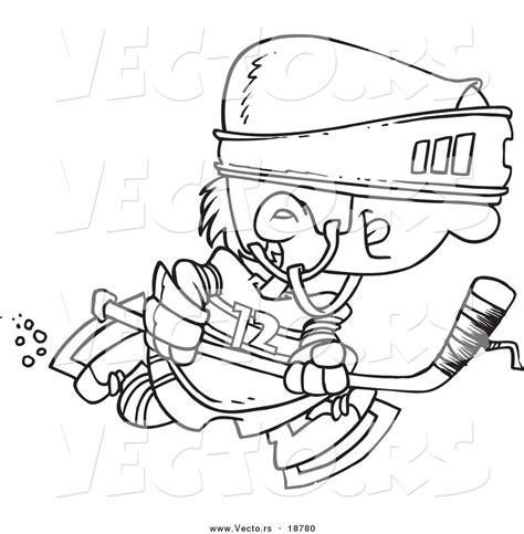 hockey cartoon coloring pages blog pinnacle pac