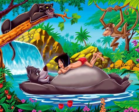 cartoon film jungle book 7 free disney the jungle book cartoon wallpaper