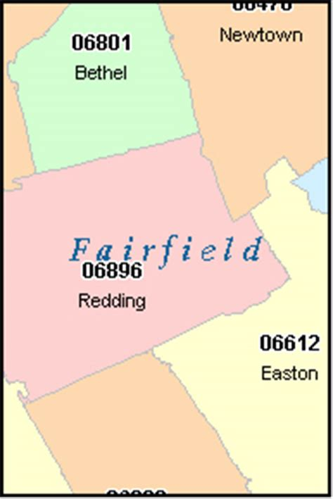 zip code map ct stamford connecticut ct zip code map downloads