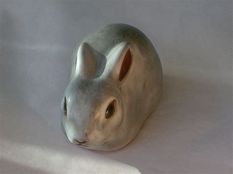 with ears back ceramic animals 1