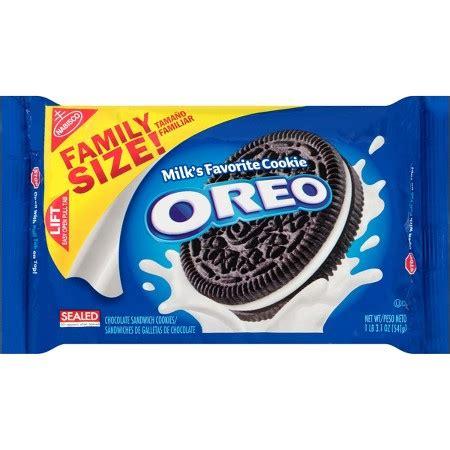 oreo chocolate sandwich cookies family size  oz target