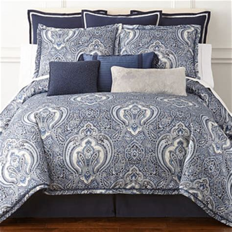 royal comforter sets royal velvet modena 4 pc comforter set jcpenney