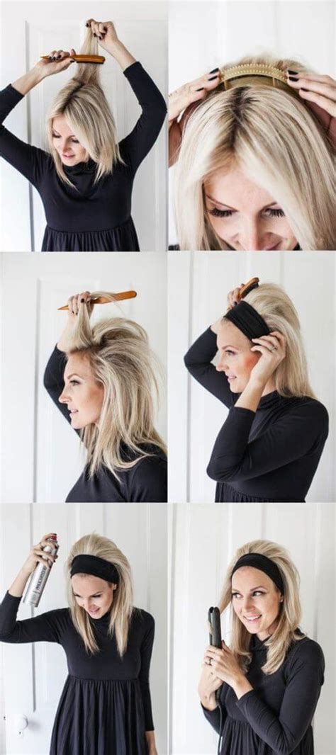 ponytail bob cut instructions 11 step by step puff hairstyle tutorials for indian girls