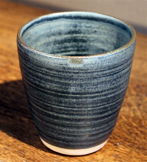 Handmade Pottery At Home - handmade pottery collection in blue