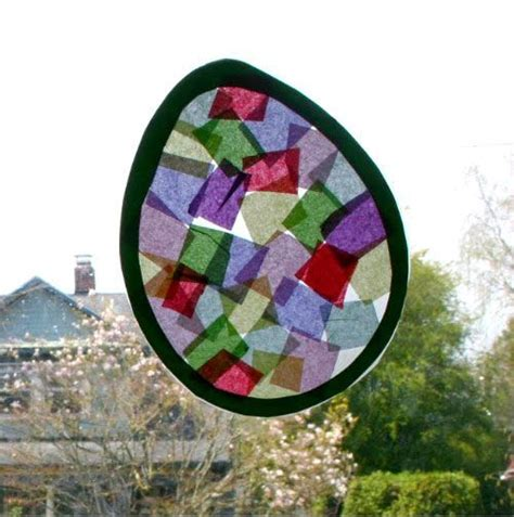 stained glass crafts for 51 easter crafts for