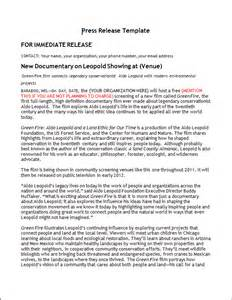 event press release template word press release template vnzgames