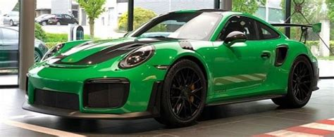 porsche signal green signal green 2018 porsche 911 gt2 rs lands in the