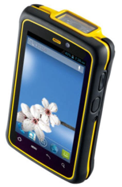 Rugged Mobile Devices by 4 3 Inch Rugged Pda With Industrial Grade Scanner Data