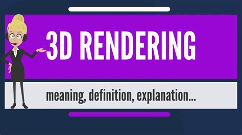 vi design meaning what is 3d rendering what does 3d rendering mean 3d