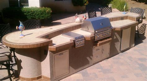 backyard bbq island contemporary outdoor grills los