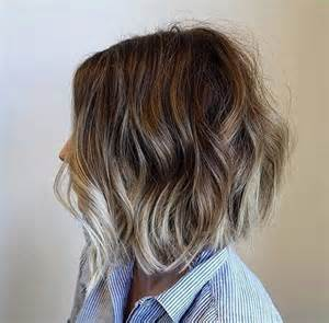 brown and ombre with a line hair cut best 25 balayage bob ideas on pinterest long bob