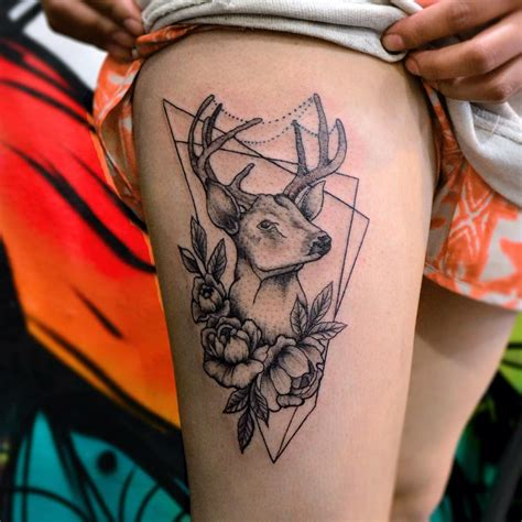 tattoo deer designs 26 deer tattoos designs design trends
