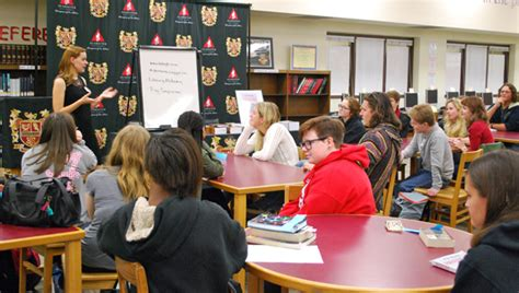 molly warner school reporter books ths students learn from award winning author shelby