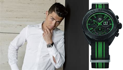 Tagheuer Cr7 Black Green three tag heuer timepieces you need to own right now