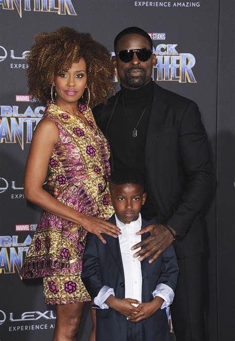 Sterling K Brown Family At Premiere Of Black