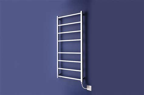 stainless steel radiators for bathrooms electric heated towel rails for bathrooms halino heated