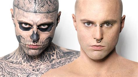 zombie boy tattoo ad of the day dermablend concealing makeup covers