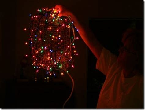 chicken wire christmas lights how to make chicken wire light balls ideas trees chicken