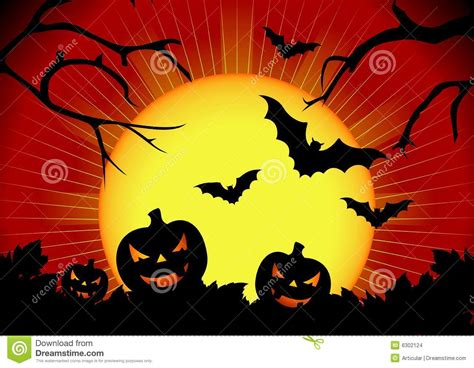 halloween themes vector vector illustration on a halloween theme stock images