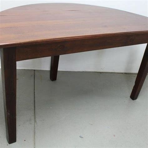 half circle dining table half circle dining table custom made small half circle