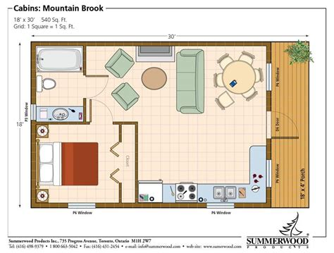 one bedroom cabin floor plans one room cabin floor plans studio plan modern casita
