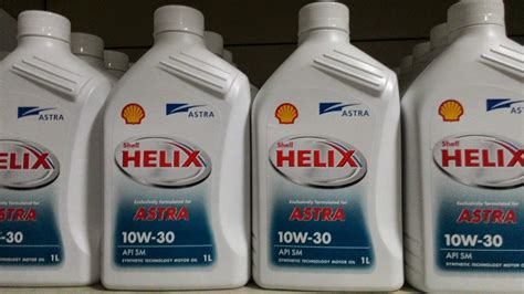 Oli Mobil Oli Mesin Shell Helix Astra 10w30 1l Harga Oli Shell Helix Mitra Otomotif