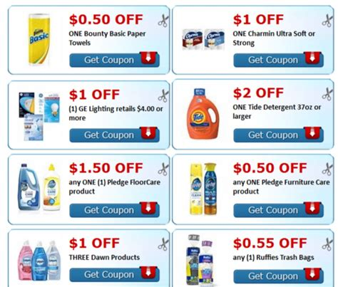 popular coupons printable