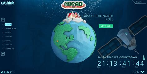 tracking santa on norad tracking santa in real time now in 3d
