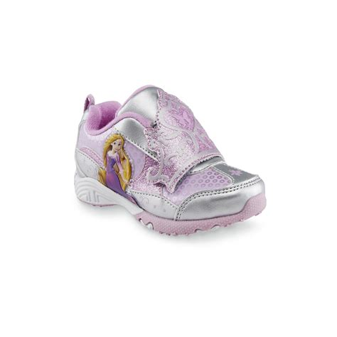 sears toddler shoes disney toddler s rapunzel silver pink athletic shoe