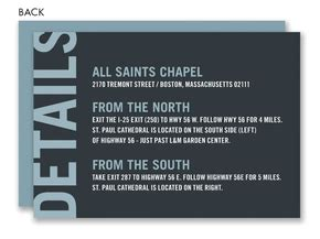 Bliss Gift Card Amount - bokeh bliss blue directions cards by noteworthy collections at invitationbox com