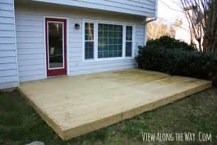 how to build a deck on concrete patio pdf diy build wood deck concrete patio
