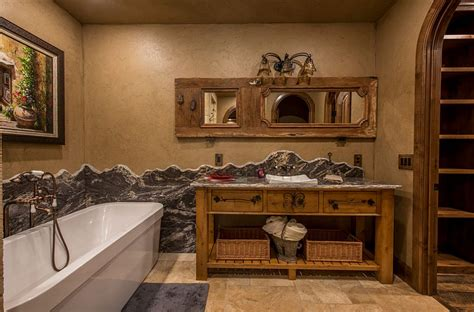 rustic bathroom walls 50 enchanting ideas for the relaxed rustic bathroom