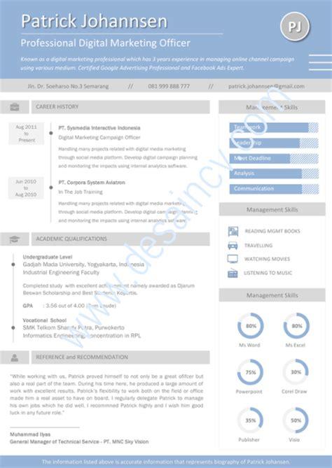 layout cv kreatif desain cv kreatif contoh cv kreatif relia