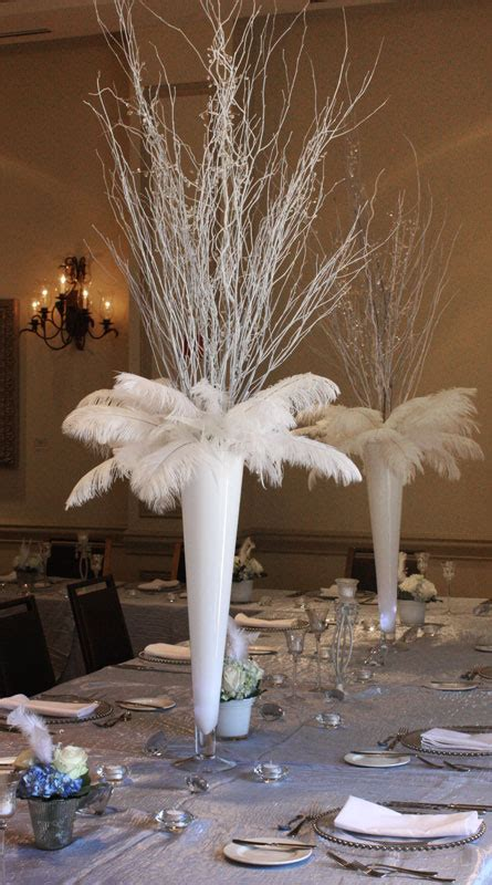 white branches for centerpieces weekend review fourth of july engagement harvey designs event and floral design