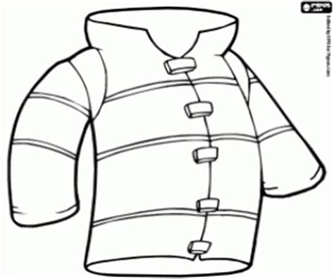 Firefighter Jacket Coloring Page   firefighter profession coloring pages printable games
