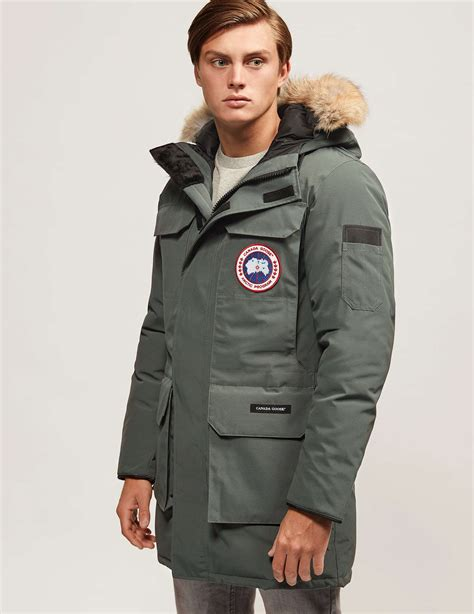 Jaket Parka Grey canada goose jacket grey