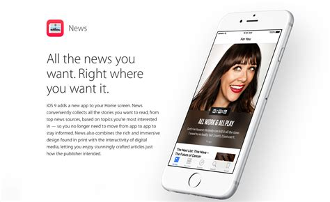 apple news apple s news app in ios 9 grows to over 50 publishers