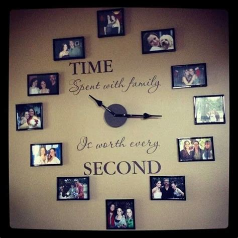 family clock crafty awesome project ideas pinterest