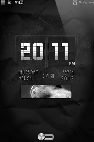 clock themes for iphone 4s free ls retro flip clock themes iphone wallpapers iphone