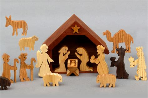 Handmade Wooden Nativity Sets - search results for wooden nativity scenes calendar 2015