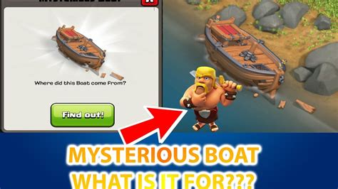 clash of clans boat videos mysterious boat in clash of clans clash of clans 2017