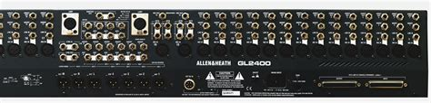 Mixer Allen Heath Gl 24 allen heath gl2400 24 shopmsl