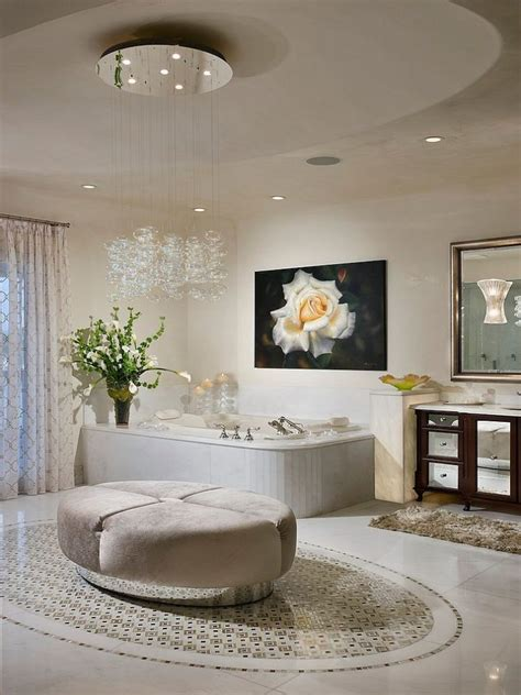 25 sparkling ways of adding a chandelier to your bathroom bathroom chandelier white bathroom rabat 2013