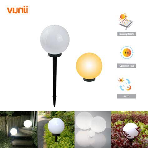 Solar Light Balls Yunji Ip65 Led Solar Garden Light Solar Powered Lawn