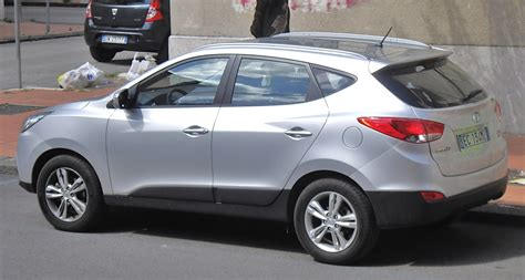 Kia I35 File Hyundai Ix35 Rear Jpg Wikimedia Commons