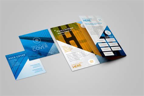 Pocket Size Brochure Format Templates Free 187 Designtube Creative Design Content Pocket Brochure Template